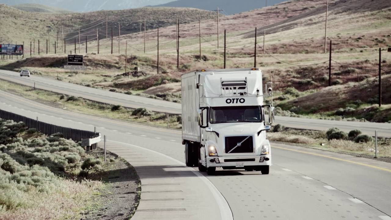 Uber займётся коммерческой доставкой грузов