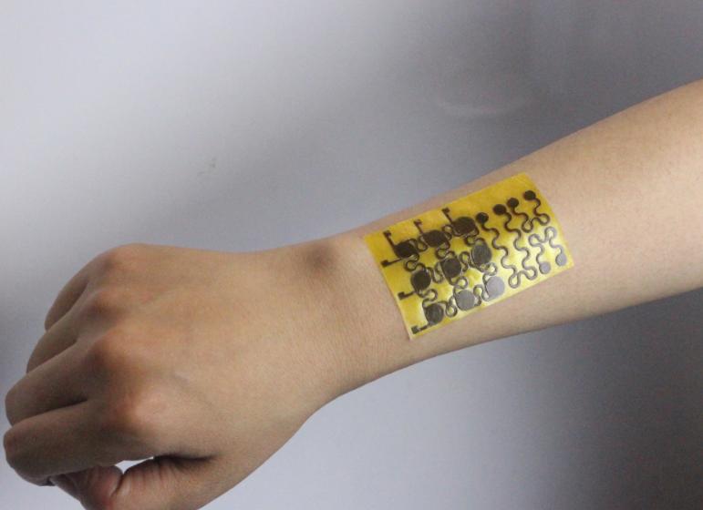 В США создали электронную кожу