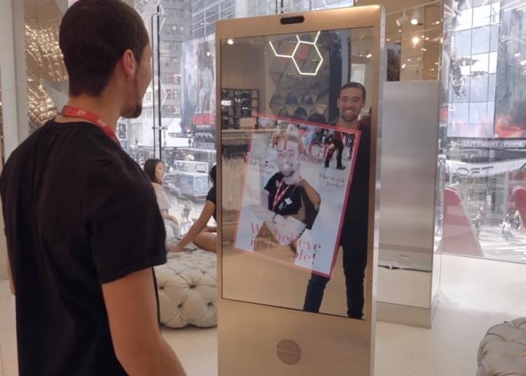 Microsoft создал умное зеркало (для H&M)
