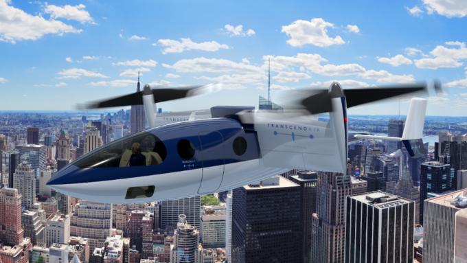 В США представили самолет-такси вертикального взлета