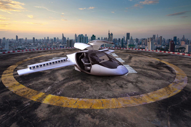 Привет, будущее: первый успешный полет летающего автомобиля Lilium