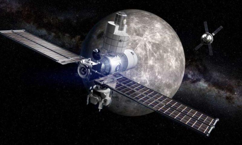NASA построит окололунную станцию в 2019 года