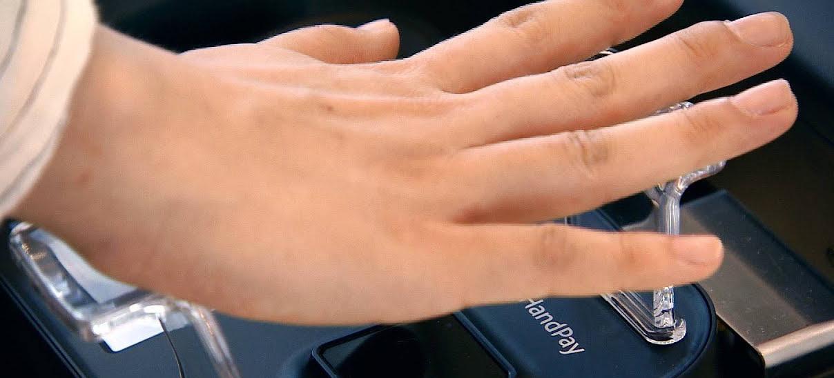 Hand Pay: теперь за покупку можно заплатить ладонью
