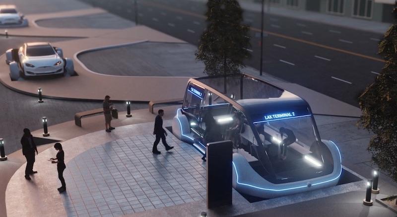 Илон Маск построит высокоскоростную магистраль Loop