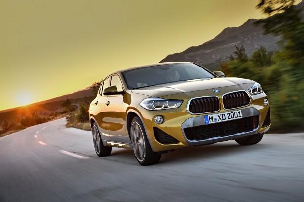 Спорт + уникальный дизайн:  новый BMW X2