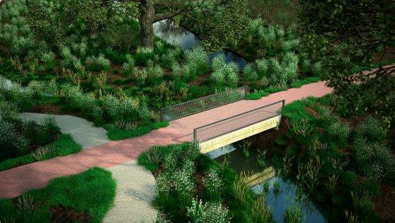 В Нидерландах открыли велосипедный мост, напечатанный на 3D-принтере