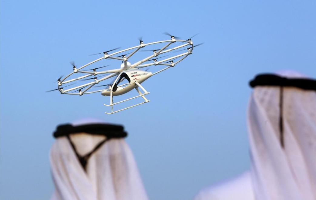 В Дубае прошел первый тестовый полет беспилотного такси