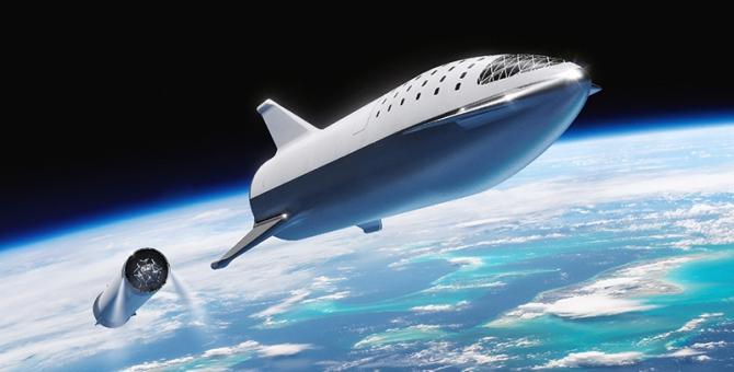 Илон Маск показал, как выглядит самый большой космический корабль SpaceX