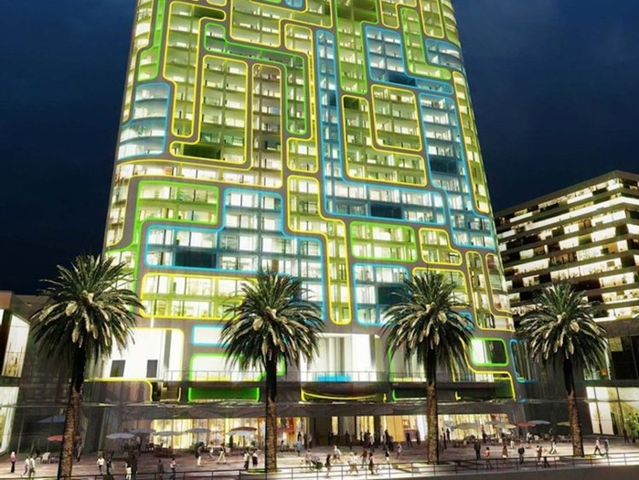 В Дубае появится умный дом, который выглядит, как гигантский iPod