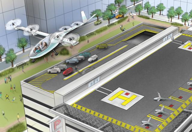 Инженер NASA поможет Uber разработать летающий автомобиль