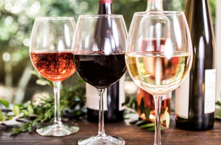 Какого цвета бывает вино?