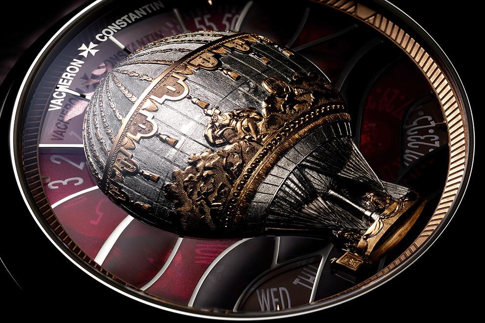 Vacheron Constantin украсили часы воздушными шарами