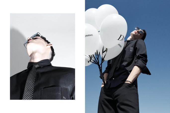 Dior Homme выпустили денимную коллекцию