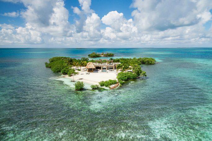 Место дня: самый уединенный вмире остров-отель