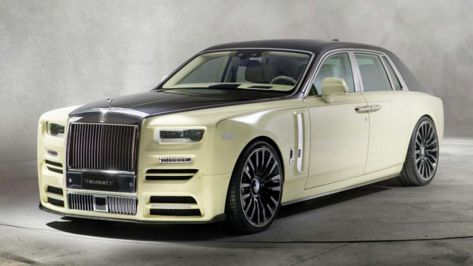 Mansory Rolls-Royce - (пожалуй) самая пошлая машина на планете