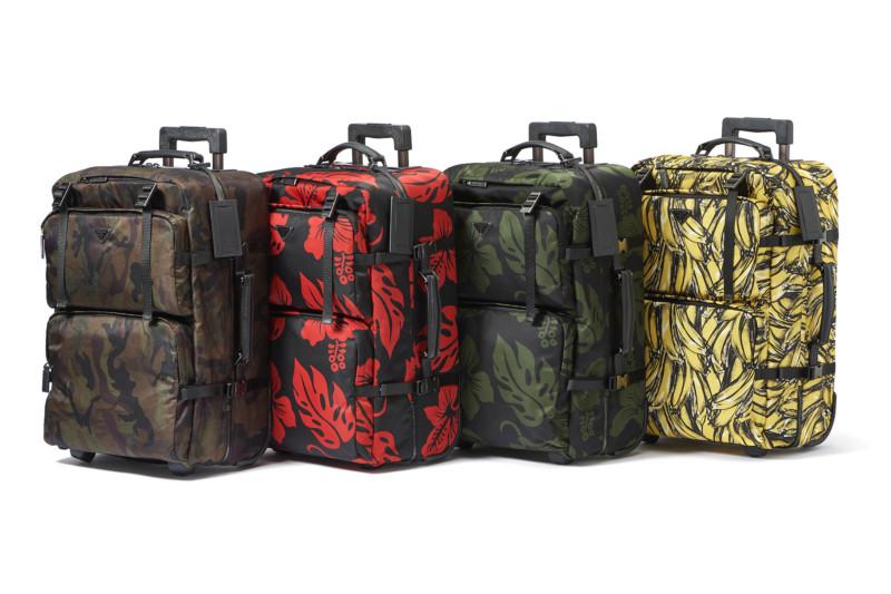 Prada создали чемоданы, которые невозможно потерять