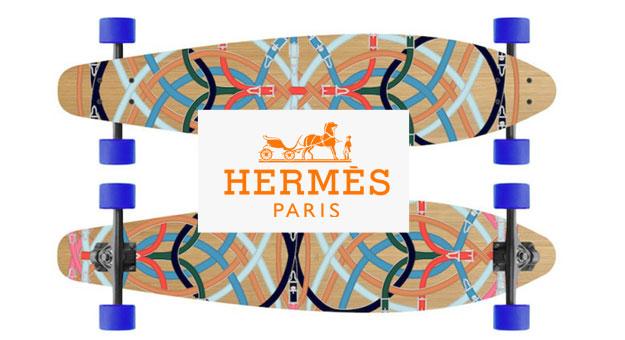 Вещь дня: скейтборды Hermès за $ 2900