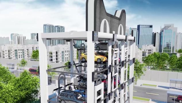 Alibaba представила автомат по продаже автомобилей