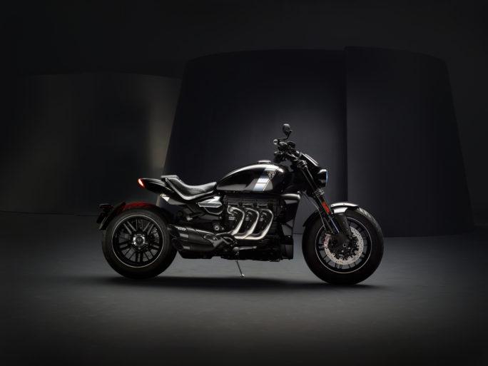 Triumph представил свой самый большой мотоцикл Rocket 3 Tfc